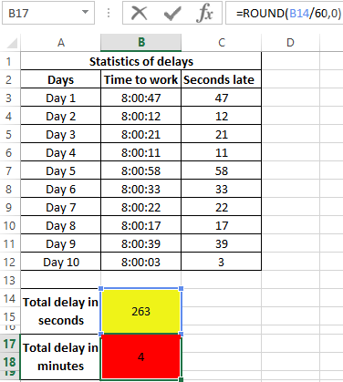 Functions Hour Minute And Second To Work With Time In Excel