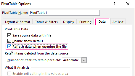 working with pivot tables in excel on examples