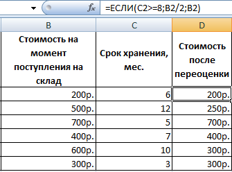 Решение задач с функцией если в эксель решение задач онлайн по математике класс